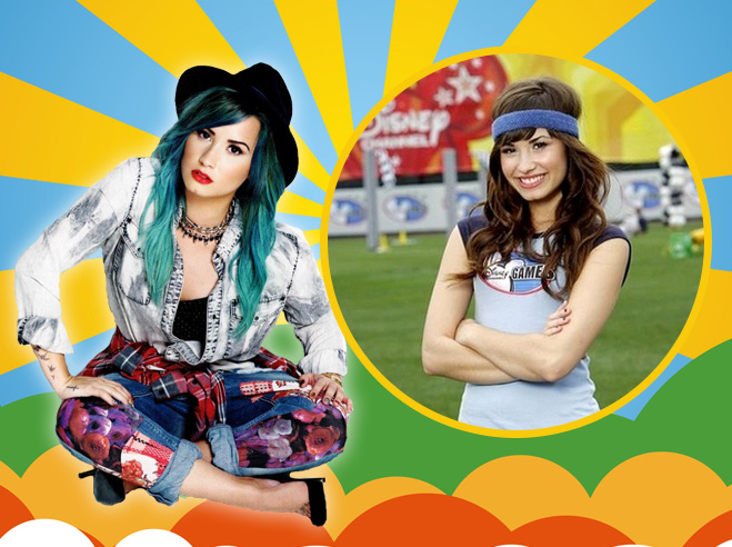 Famous-Celebrities-Who-Started-from-Disney-Channel-Demi-Lovato