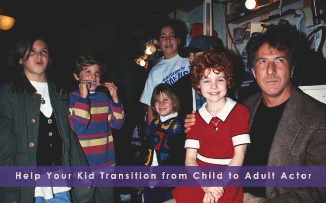 Transition from Child to Adult Actor