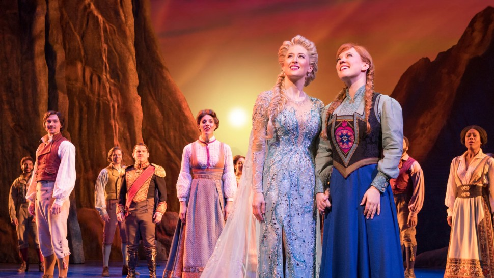 Frozen on stage