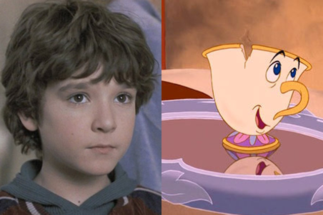 Bradley Pierce as Chip in Beauty and the Beast