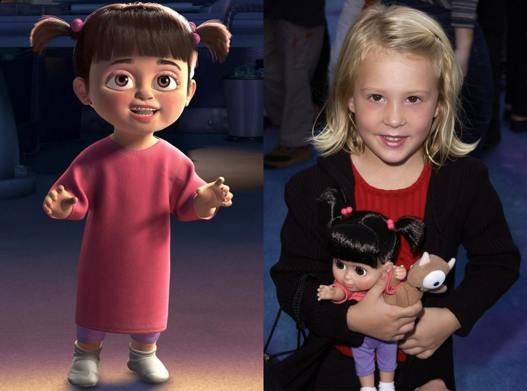 Mary Gibbs as Boo in Monsters, Inc.