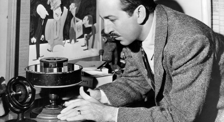 UNSPECIFIED - JULY 30:  American producer Walt Disney (1901-1966) c. 1945  (Photo by Apic/Getty Images)